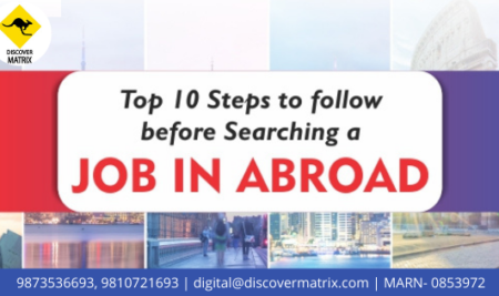 Top 10 Steps Before Applying for a Foreign Job